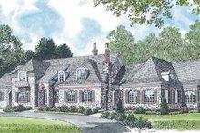 Dream House Plan - European Exterior - Front Elevation Plan #453-198