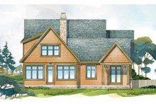 Craftsman Exterior - Rear Elevation Plan #928-228