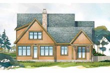 Architectural House Design - Craftsman Exterior - Rear Elevation Plan #928-228