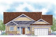 Country Style House Plan - 3 Beds 2.5 Baths 1885 Sq/Ft Plan #938-37 Exterior - Front Elevation