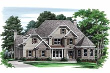 House Plan Design - Traditional Exterior - Front Elevation Plan #927-562