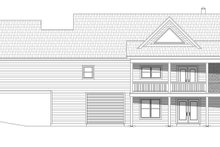 Country Exterior - Rear Elevation Plan #932-62