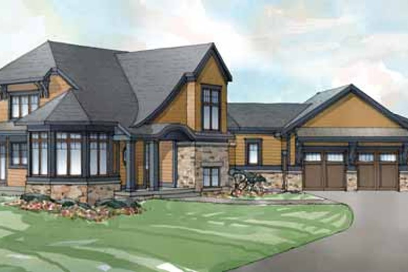 Traditional Exterior - Front Elevation Plan #928-238