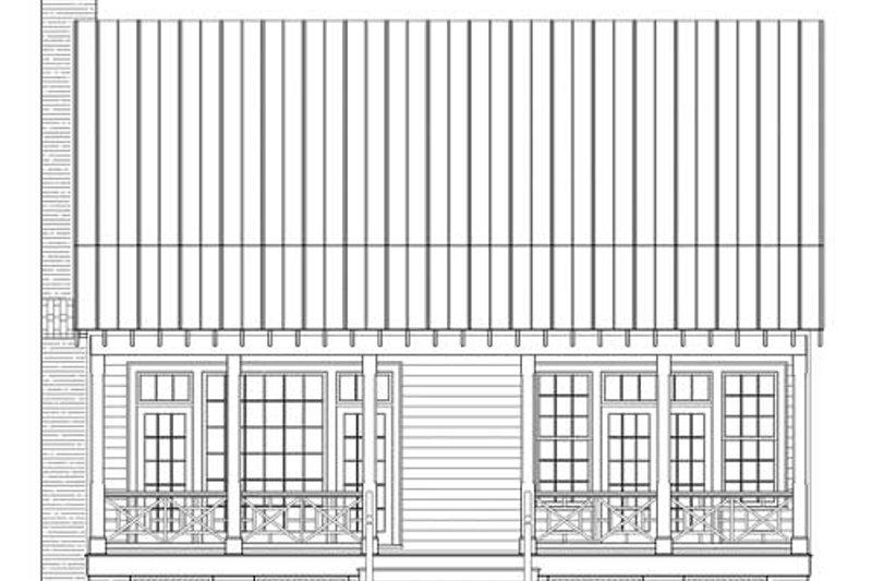 Country Exterior - Rear Elevation Plan #137-264 - Houseplans.com