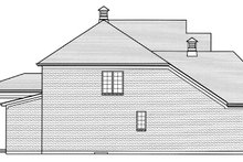 Traditional Exterior - Other Elevation Plan #46-863