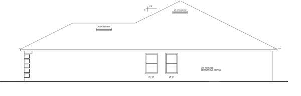 Prairie Floor Plan - Other Floor Plan Plan #1058-26