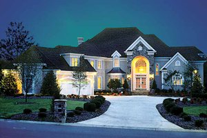 Dream House Plan - European Exterior - Front Elevation Plan #453-190
