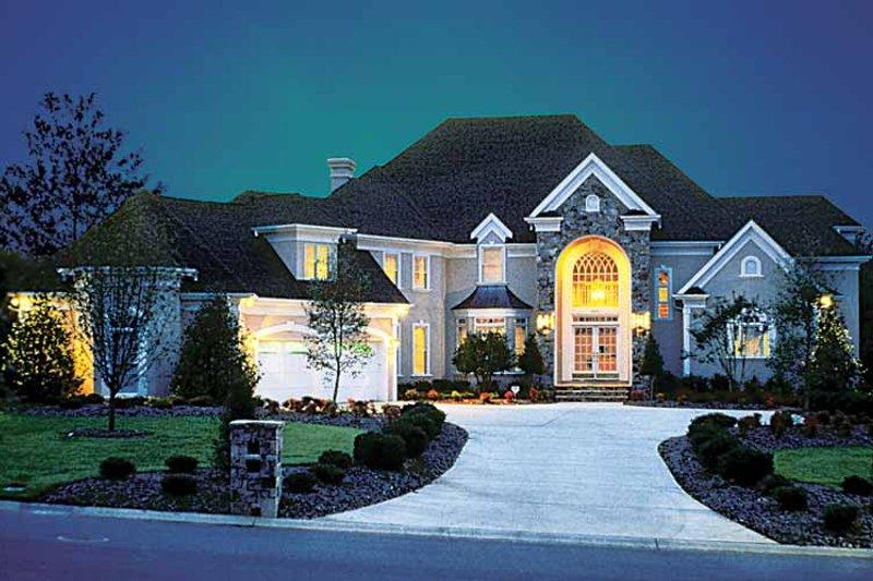Architectural House Design - European Exterior - Front Elevation Plan #453-190