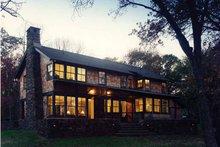 House Plan Design - Craftsman Exterior - Rear Elevation Plan #961-2
