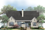 Country Style House Plan - 4 Beds 3 Baths 1952 Sq/Ft Plan #929-658 Exterior - Rear Elevation