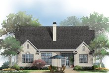 House Blueprint - Country Exterior - Rear Elevation Plan #929-658