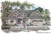 Craftsman Style House Plan - 3 Beds 2 Baths 1965 Sq/Ft Plan #929-721 Exterior - Front Elevation