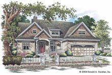 Craftsman Exterior - Front Elevation Plan #929-721