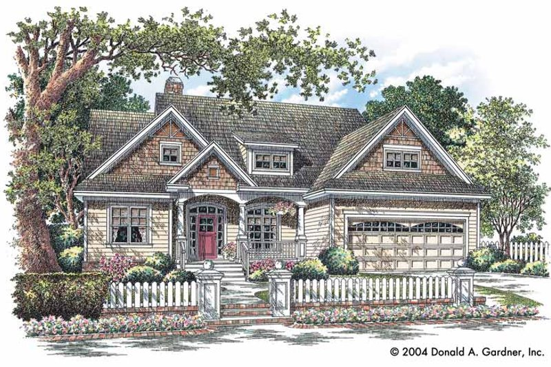 Craftsman Exterior - Front Elevation Plan #929-721 - Houseplans.com