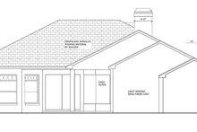 House Plan Design - Mediterranean Exterior - Rear Elevation Plan #1058-42