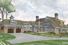 Home Plan - Craftsman Exterior - Rear Elevation Plan #928-235