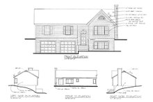 Dream House Plan - Traditional Exterior - Rear Elevation Plan #56-117