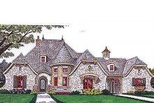 Home Plan - European Exterior - Front Elevation Plan #310-686