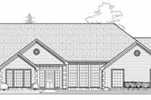 Traditional Exterior - Front Elevation Plan #65-138