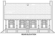 Cabin Style House Plan - 2 Beds 2 Baths 1034 Sq/Ft Plan #45-335 Exterior - Other Elevation