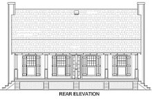 Dream House Plan - Cabin Exterior - Other Elevation Plan #45-335