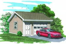 House Plan Design - Traditional Exterior - Front Elevation Plan #47-498