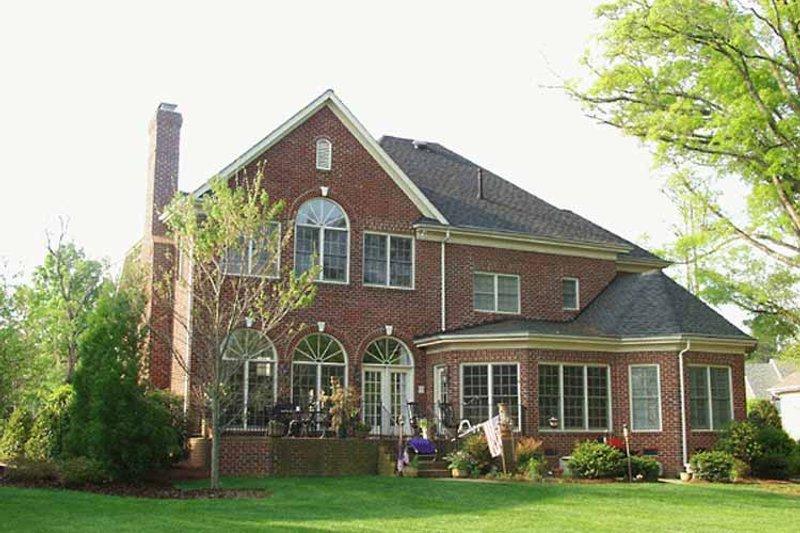 Traditional Exterior - Rear Elevation Plan #453-224 - Houseplans.com