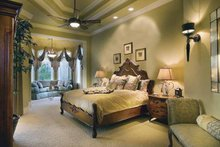 Mediterranean Interior - Master Bedroom Plan #930-417