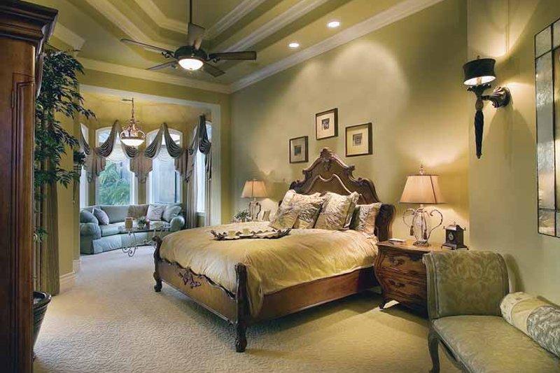 Mediterranean Interior - Master Bedroom Plan #930-417 - Houseplans.com