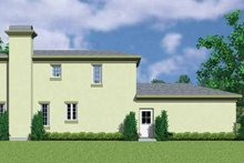 House Blueprint - Contemporary Exterior - Other Elevation Plan #72-1125