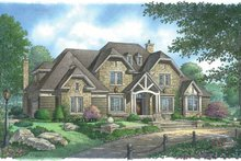 Country Exterior - Front Elevation Plan #929-850
