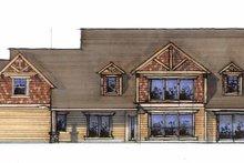 Craftsman Exterior - Rear Elevation Plan #509-357