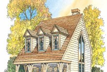 Dream House Plan - Craftsman Exterior - Front Elevation Plan #1016-66