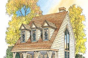 House Plan Design - Craftsman Exterior - Front Elevation Plan #1016-66