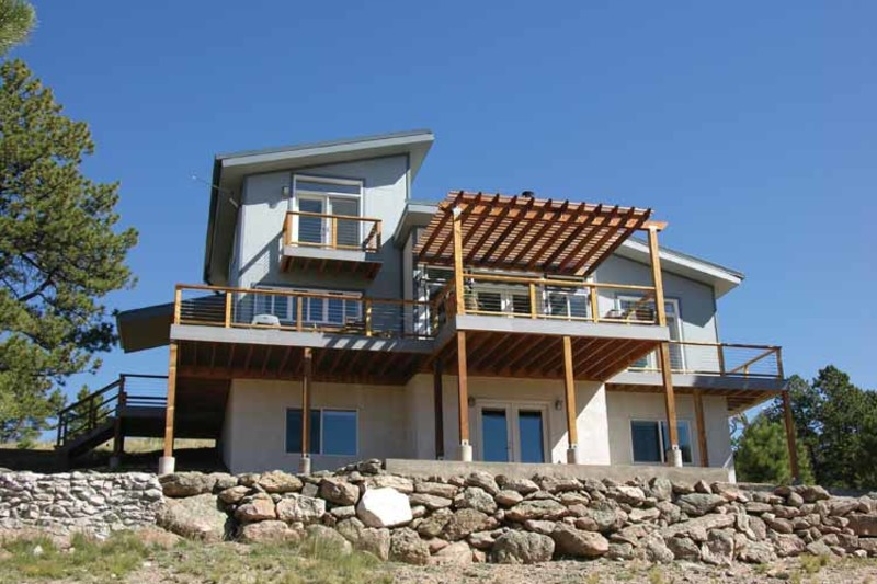 Contemporary Exterior - Front Elevation Plan #1042-14 - Houseplans.com
