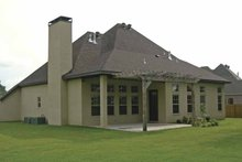 Architectural House Design - Contemporary Exterior - Rear Elevation Plan #11-273