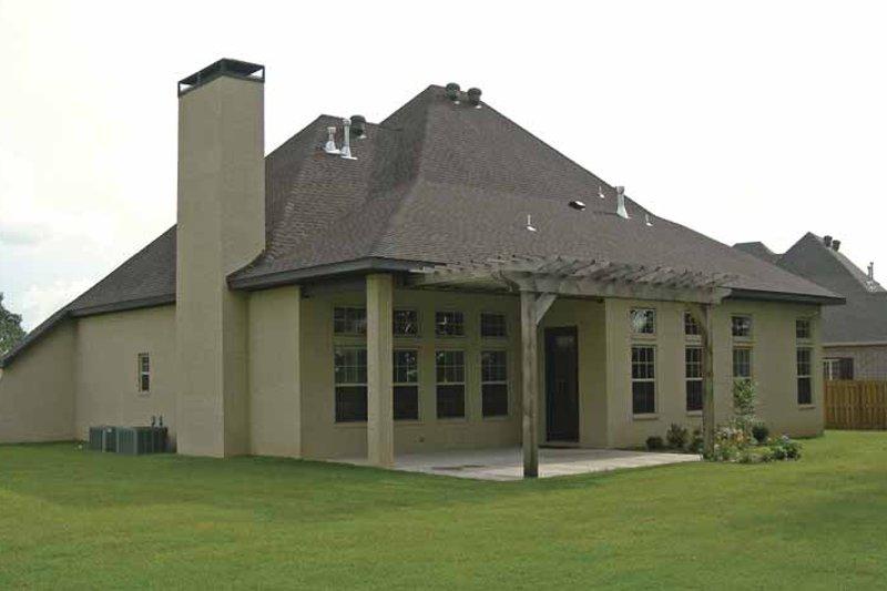 Contemporary Exterior - Rear Elevation Plan #11-273 - Houseplans.com