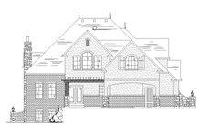 House Design - European Exterior - Rear Elevation Plan #945-137