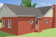 Traditional Style House Plan - 3 Beds 2 Baths 1485 Sq/Ft Plan #44-185 Exterior - Other Elevation