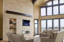 Architectural House Design - Contemporary Interior - Family Room Plan #928-67