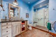 Prairie Style House Plan - 3 Beds 3 Baths 3219 Sq/Ft Plan #1042-18 Interior - Bathroom