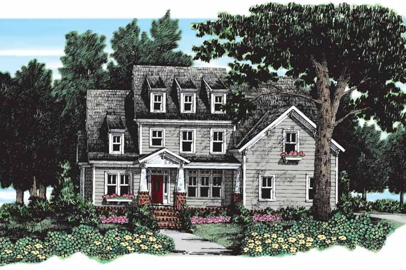 Craftsman Exterior - Front Elevation Plan #927-133