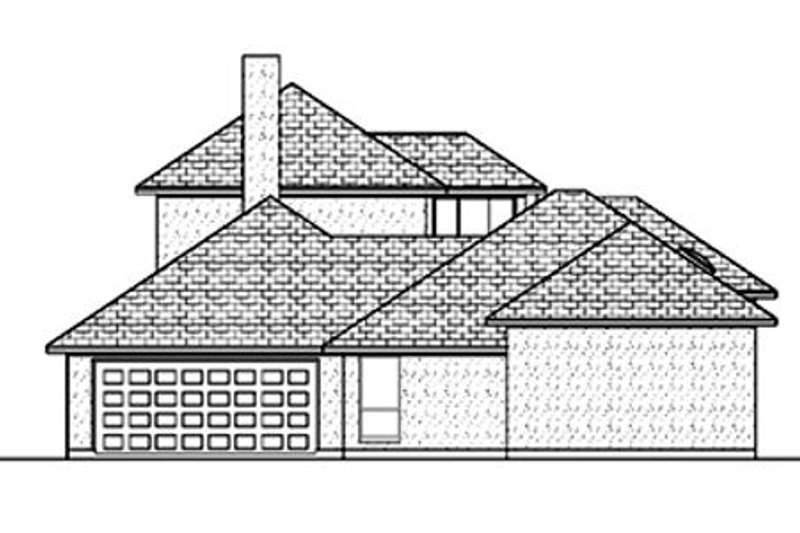 Mediterranean Exterior - Rear Elevation Plan #84-396 - Houseplans.com