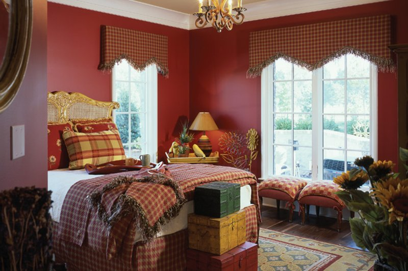 European Interior - Bedroom Plan #453-609 - Houseplans.com