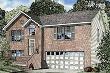 Colonial Exterior - Front Elevation Plan #17-3235