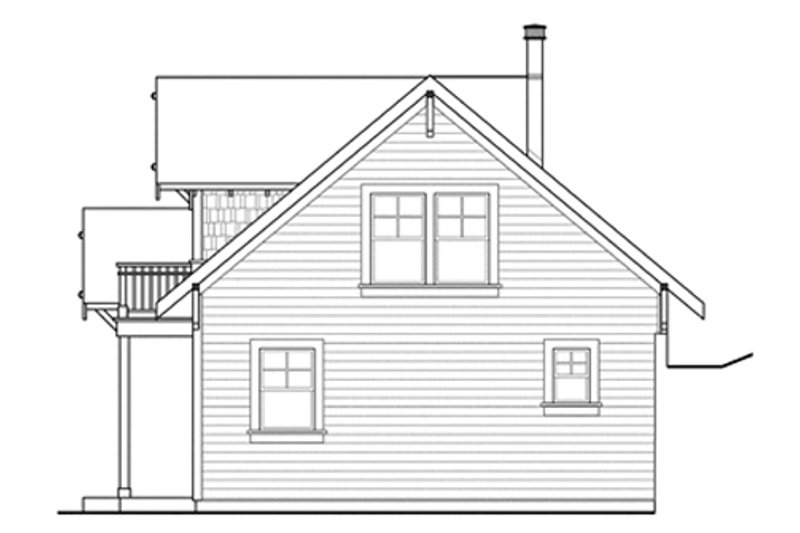 Craftsman Exterior - Other Elevation Plan #124-554 - Houseplans.com