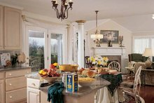 Dream House Plan - Victorian Interior - Kitchen Plan #314-206
