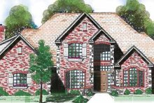 House Design - Traditional Exterior - Front Elevation Plan #52-273