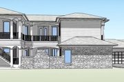Country Style House Plan - 4 Beds 4.5 Baths 3191 Sq/Ft Plan #938-15 Exterior - Other Elevation