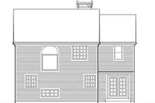 Dream House Plan - Traditional Exterior - Rear Elevation Plan #48-198